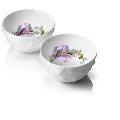 Menu Design by Us Raw Diamonds Breakfast Bowls (Set of 2) (Set of 2)