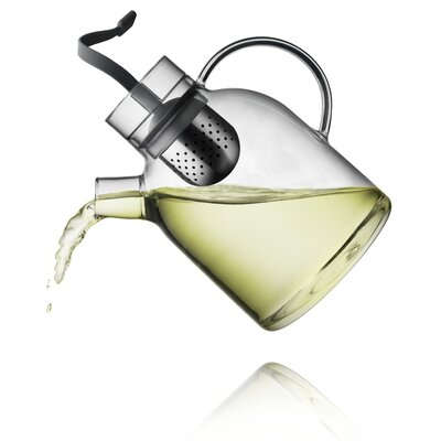 Menu Norm 1.58-qt. Glass Kettle Teapot with Tea Egg