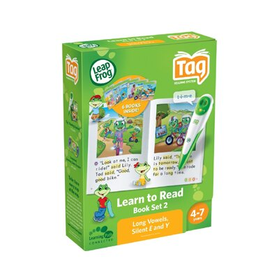 LeapFrog Leapfrog Tag Learn To Read Phonics Book Set 2: Long Vowels, Silent E & Y