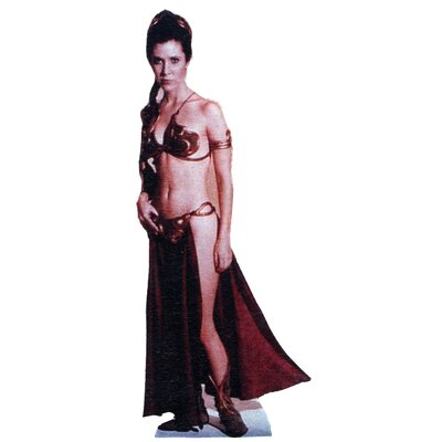 Advanced Graphics Star Wars - Princess Leia-Slave Girl Life-Size Cardboard Stand-Up