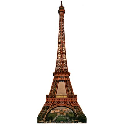 Advanced Graphics Eiffel Tower Cardboard Stand-Up