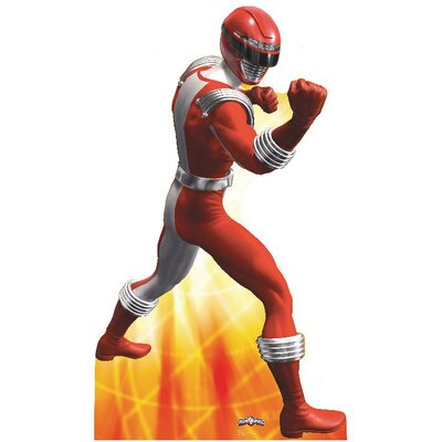 Advanced Graphics Power Ranger Cardboard Stand-Up in Red