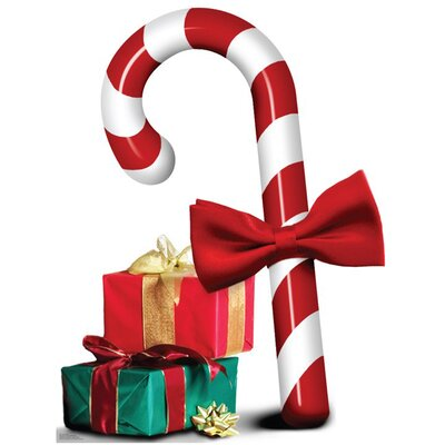 Advanced Graphics Christmas Candy Cane Cardboard Stand-Up