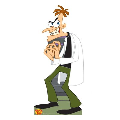 Advanced Graphics Dr Doofenshmirtz Cardboard Stand-Up