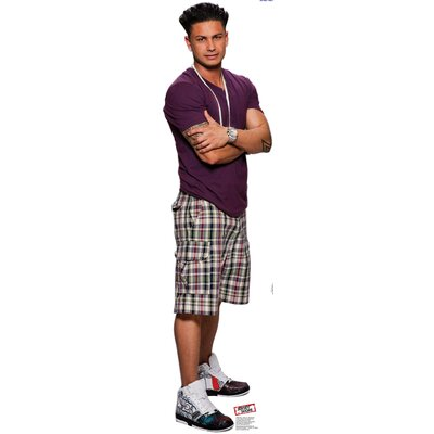 Advanced Graphics Jersey Shore Pauly D Cardboard Stand-Up