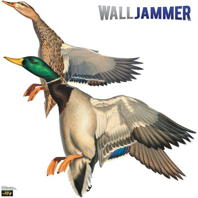 Advanced Graphics Cabela's Malard Ducks Wall Jammer