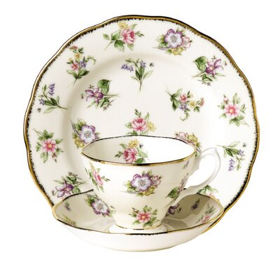 Royal Albert 1920's Cup / Saucer and Plate