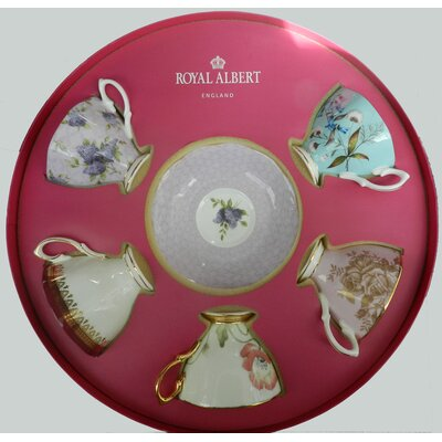 Royal Albert 10 Piece Cup and Saucer Set 50-90