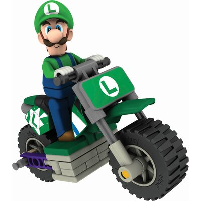 K'NEX Nintendo Luigi and Standard Bike Building Set