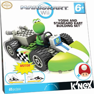K'NEX Yoshi and Standard Kart Building Set