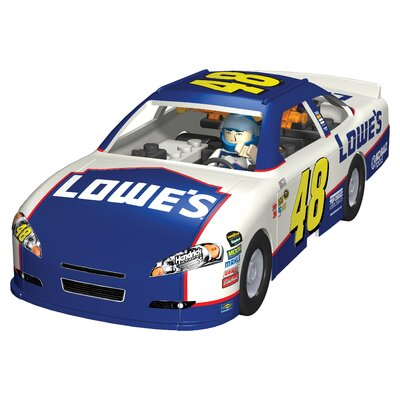 K'NEX NASCAR Lowes Car Building Set