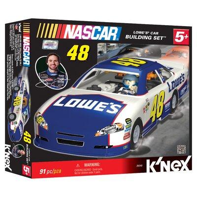 K'NEX NASCAR Lowes Car Building Set