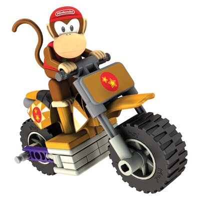 K'NEX Nintendo Diddy Kong and Standard Bike Building Set
