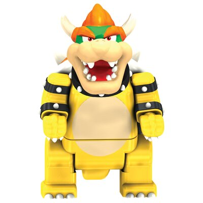 K'NEX Nintendo Mario and Yoshi Vs Stone Bowser Building Set
