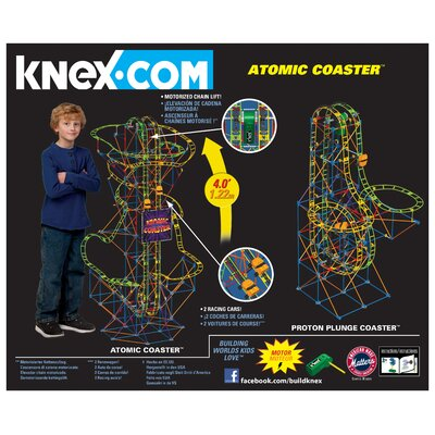 K'NEX Atomic Coaster Building Set