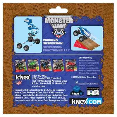 K'NEX Monster Jam Grave Digger Legend Building Set