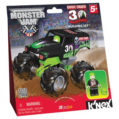 K'NEX Monster Jam 30th Anniversary Grave Digger Building Set