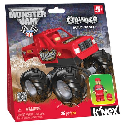 K'NEX Monster Jam Grinder Building Set