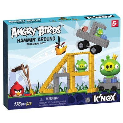 K'NEX Angry Birds Hammin' Around Building Set