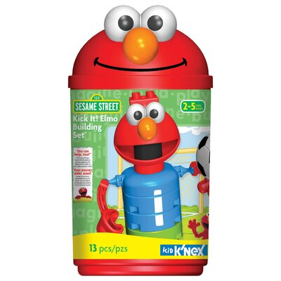 K'NEX Sesame Street Kick It! Elmo Building Set