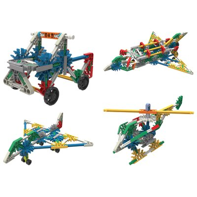 K'NEX Plane, Helicopter, and Truck Intro Assortment