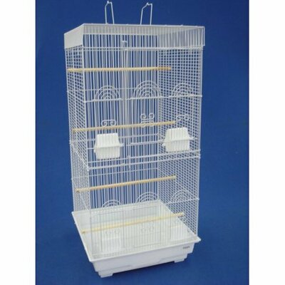 YML Tall Square Top Small Bird Cage