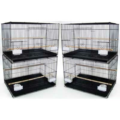 YML Lot of Four Medium Bird Breeding Cages