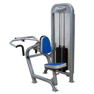 Quantum Fitness I Series Commercial Seated Row/Upper Back Combination Unit