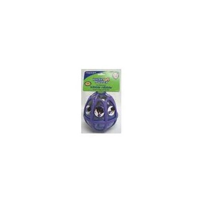 Kibble Nibble Feeder Ball Dog Toy in Purple