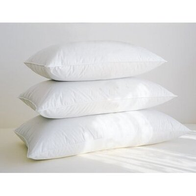 Down Inc. 230 Cambric Knife Edge Firm Snow White Down Sleeping Pillow