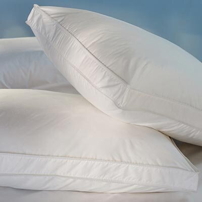 "Down Inc. 230 Cambric with 1.5"" Gusset Snow White Down Sleeping Pillow"