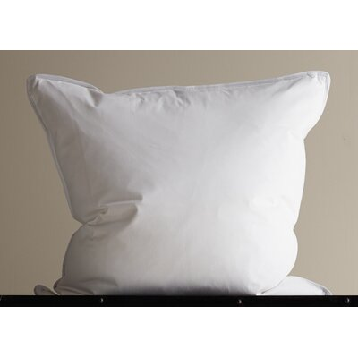 Down Inc. 360 Thread Count Sateen Down Alternative Medium Euro Square Pillow