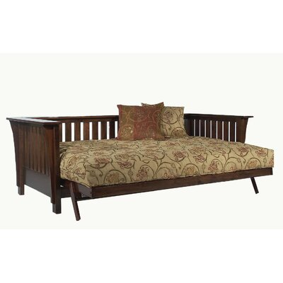 Strata Furniture Signature Mission Rim Full Futon Frame