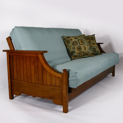 Strata Furniture Carriage Devonshire Ruberwood Futon Frame