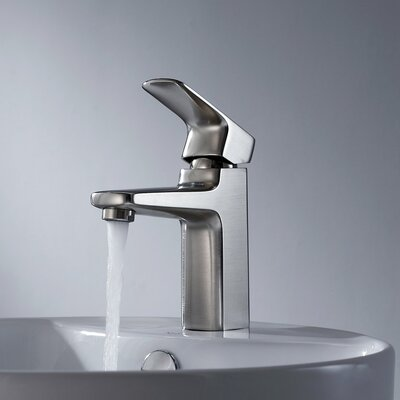 Kraus Virtus Single Hole Faucet with Lever Handle