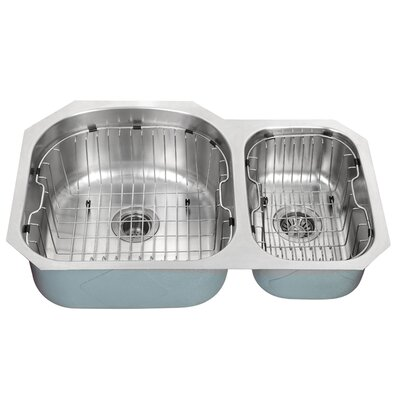 "Kraus Kitchen Accessories 18"" Stainless Steel Rinse Basket for Kitchen Sink in Chrome"