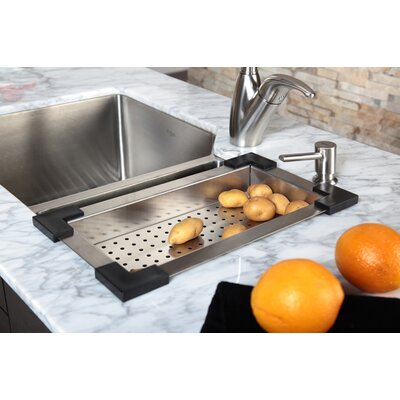 Kraus Stainless Steel Colander for Kitchen Sink