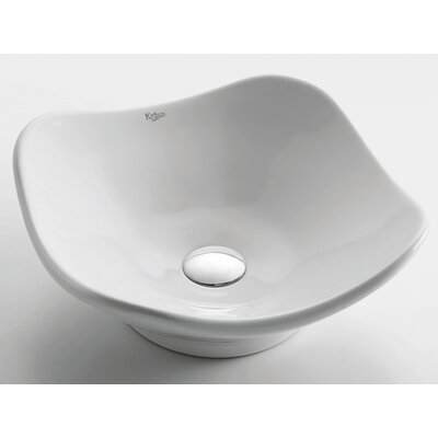 Ceramic Tulip Bathroom Sink - KCV-135