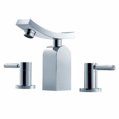 Kraus Bathroom Combos Widespread Unicus Faucet with Double Handles