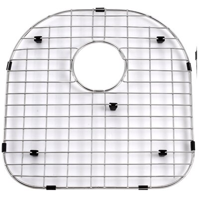 "Kraus Stainless Steel 16"" x 16"" Bottom Grid"