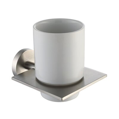 Kraus Imperium Wall-mounted Ceramic Tumbler Holder