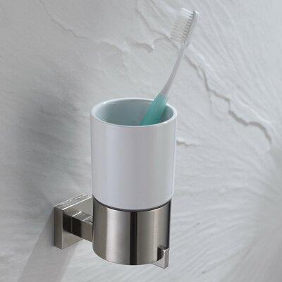 Kraus Aura Wall-mounted Ceramic Tumbler Holder