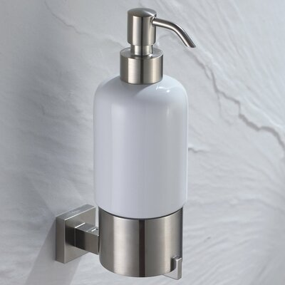 Kraus Aura Wall-mounted Ceramic Lotion Dispenser