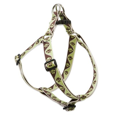 "Lupine Pet Mud Puppy 1"" Adjustable Large Dog Step-In Harness"