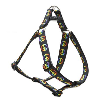 "Lupine Pet Woofstock 1"" Adjustable Large Dog Step-In Harness"