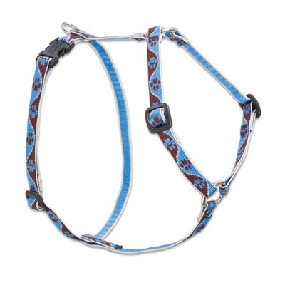 Lupine Pet Muddy Paws Adjustable Small Dog Roman Harness