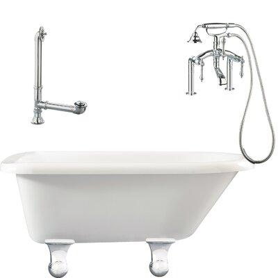 Brighton Roll Top Bathtub - LB3-