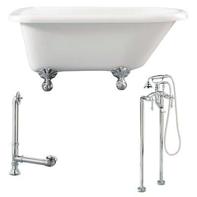 Augusta Roll Top Bathtub - LA2-