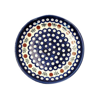 <strong>Euroquest Imports Polish Pottery</strong> 12 oz. Rimmed Bowl