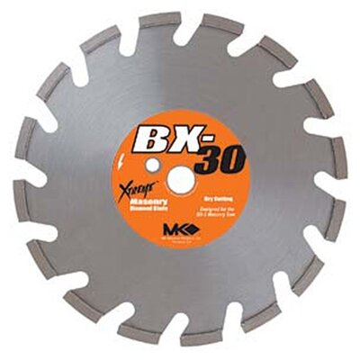 MK Diamond Dry Cutting Segmented Rim Blades BX-30